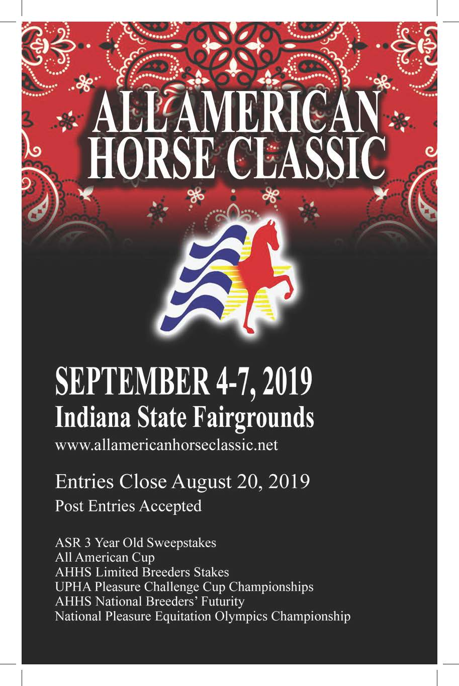 All American Horse Classic | Indiana State Fairgrounds